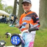 Nova behaalt podium plek bij Nationale BMX wedstrijd in Haaksbergen