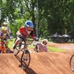 Kwalificatiemoment BMX rijders FCC Barendrecht