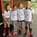 HCB Dames 1 wint met 4 - 3 van Rapid