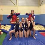 GVB 3 regiokampioenen en 14 medailles rijker