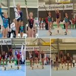 8 keer eremetaal voor turnsters GV Barendrecht tijdens landelijke kwartfinale