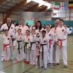 Vier keer goud voor Barendrechtse Karateclub