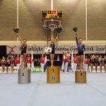 Merel van Krimpen en Lotte van Noort Nederlands Kampioen turnen