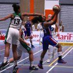 Basketbalvrouwen Renes/Binnenland winnen van Rotterdam Basketball