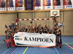 MD5 van Hockeyclub Barendrecht zaalkampioen