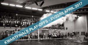 Waterpoloheren ZPB beginnen aan play-offs in Inge de Bruijn Zwembad