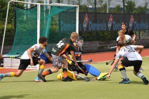 Barendrechtse hockeyheren winnen belangrijke wedstrijd in de strijd tegen degradatie