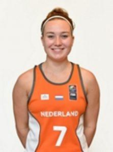 Myrthe den Heeten eerste nieuwe aanwinst basketbalteam Renes/Binnenland