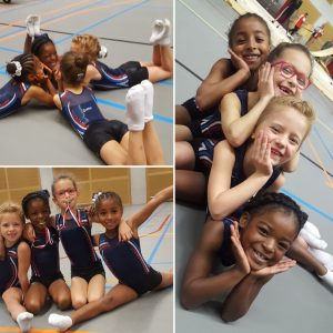 Mooie prestaties jong talent turnsters van Gymnastiekvereniging Barendrecht