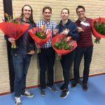 Jubilarissen in het zonnetje gezet bij CBV Binnenland