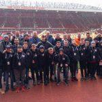 BVV Barendrecht JO13-1 in Manchester: 'Een unieke ervaring voor jong en oud'
