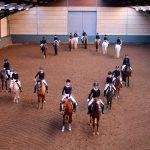 Generale repetitie voor carrousel groepen van Rijvereniging Barendrecht