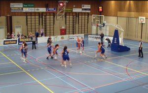 Winst in eerste halve finale voor basketbalvrouwen Vetus/Binnenland