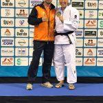 Miranda van Hengel Europees kampioen en JCR Judo meidenteam 5de van Nederland