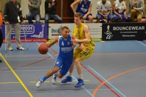 Kwartfinale: Aarnoudse/Binnenland met 43-88 onderuit tegen Landstede Zwolle