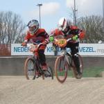 BMX-ers FCC Barendrecht laten Baarn oranje kleuren