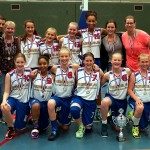 Basketbalsters CBV Binnenland VU14-1 Nederlands Kampioen