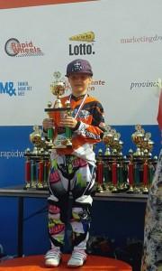 Nova van FCC Barendrecht 2e op Nederlands kampioenschap BMX