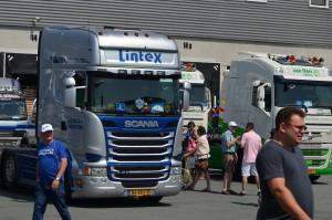 Vrachtwagen Lintex BV (Truckrun Barendrecht 2015)