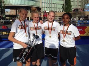 Binnenland meiden Nederlands Kampioen streetball U15
