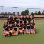 Eerste competitiewedstrijd nieuwe seizoen HCB Dames