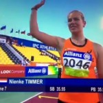 Limiet voor Rio de Janeiro voor Nienke Timmer!
