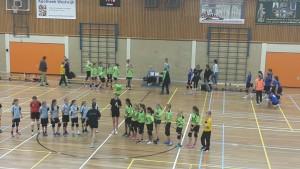 Handbal meiden Savosa D2 tegen Twist