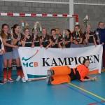 MC6 eerste zaalkampioen dit seizoen van Hockeyclub Barendrecht
