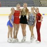 Barendrechtse schaatstalenten bij kwalificatiewedstrijd ONK kunstrijden