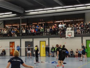 Badmintonploeg The Flying Shuttle verstevigd koppositie