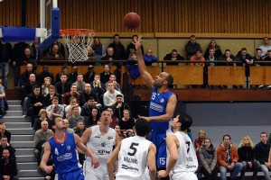 Huidige landskampioen maatje te groot voor Basketbalheren Binnenland