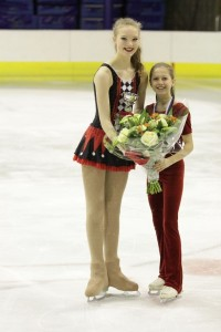 Zilver voor Sophie Bijkerk in internationale Ice Talent Trophy Hasselt