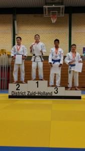 Judoka's van Budosport John van Eerdenburg plaatsen zich voor NK