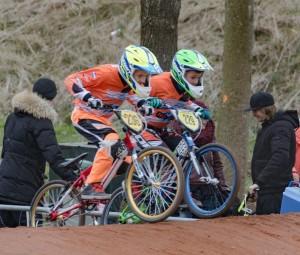 Winst en verlies liggen dicht bij elkaar voor BMX-ers FCC Barendrecht