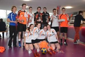 Vitesse A1 kampioen na winst op Oranje Wit in Bongerdhal