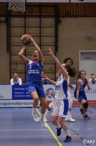 Basketbaldames moeten winst aan Dozy BV Den Helder laten