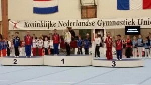 Herenselectie GV Barendrecht door naar halve finale NK turnen