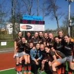 Hockeydames pakken winst en nemen 3 punten mee naar Barendrecht