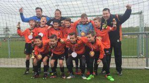 Drie teams VV Smitshoek kampioen