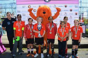Team Barendrecht kampioen Ladies Streetsoccer Tournament