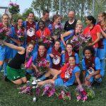 BVV Barendrecht dames 3 kampioen: Volgend seizoen 2e klasse
