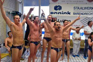 ZPB heren winnen halve finale overtuigend in bomvol eigen zwembad
