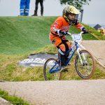 Reza Roks behaalt podium plaats op derde Nationale BMX wedstrijd