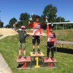 Zonnig BMX West competitie in Schagen voor FCCB rijders