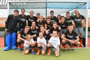 FOTO'S: Hockeyheren starten seizoen met spannende wedstrijd tegen HDS