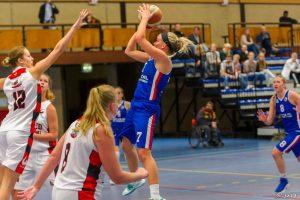 Basketbalvrouwen Binnenland simpel langs Amazone Utrecht