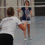 14 jarige debuteert in badminton eredivisie met een single overwinning
