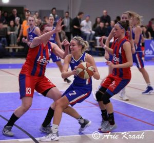 Basketbalvrouwen Renes/Binnenland stellen teleur in halve finale Final Four