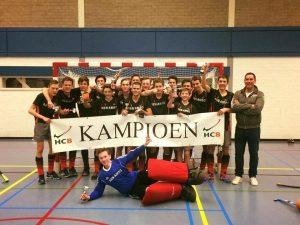 Hockeyers JB1 zaalkampioen