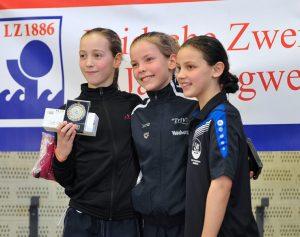 Brons voor ZPB-zwemster Estelle van Wijngaarden op NK minioren